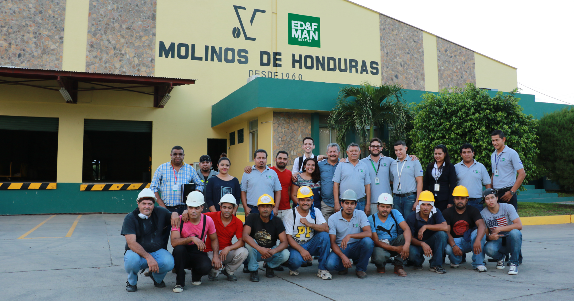 About ED&F Man – team of employees at a coffee mill in Honduras
