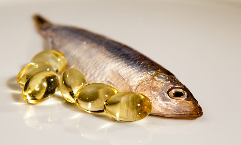 Fish and fish oil capsules